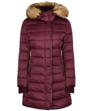 Women's Schoffel Mayfair Down Coat - Fig