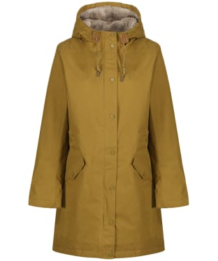 Women's Seasalt Plant Hunter Waterproof Coat - Oak