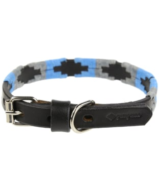 Pampeano Leather Dog Collar - Ebano