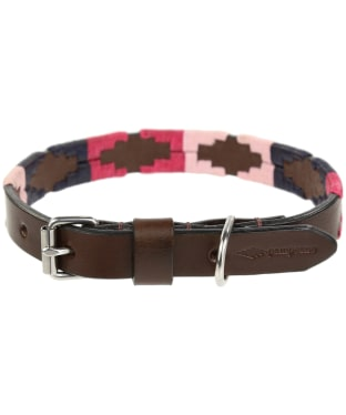 Pampeano Leather Dog Collar - Petalo