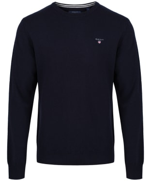 Men's GANT Super Fine Lambswool Sweater - Marine