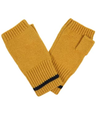 Women's Joules Frostly Fingerless Gloves - Camel