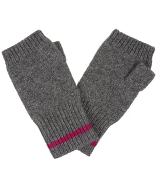 Women's Joules Frostly Fingerless Gloves - Dark Grey