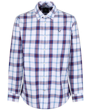 a5f1b00b1cd63 Men s Crew Clothing Bamburgh Classic Check Shirt - Ultramarine   Red
