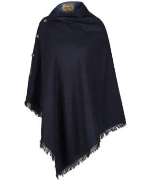 Women's Dubarry Hazelwood Tweed Poncho - Navy