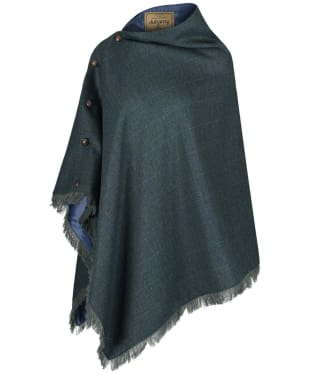 Women's Dubarry Hazelwood Tweed Poncho - Mist