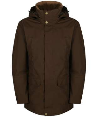 Men's Dubarry Ballywater Travel Waterproof Coat - Coffee Bean