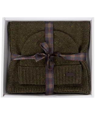 Men's Barbour Donegal Knitted Giftset