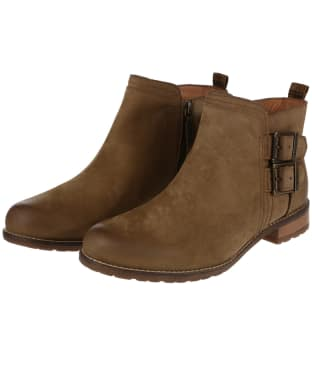 Women's Barbour Sarah Low Buckle Boots - Cognac