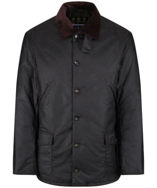 Men's Barbour x Sam Heughan Calcite Wax Jacket - Rustic
