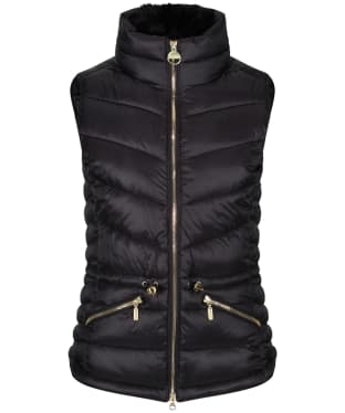 Women's Barbour International Victory Gilet - Black