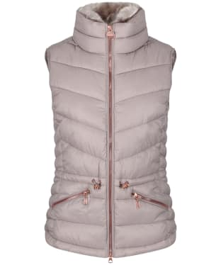 Women's Barbour International Victory Gilet - Latte