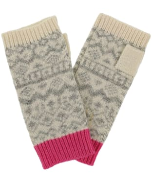 Women's Joules Elsa Knitted Gloves - Grey Marl