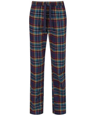 Men's Joules Sleeper Check Lounge Trousers - Navy Check