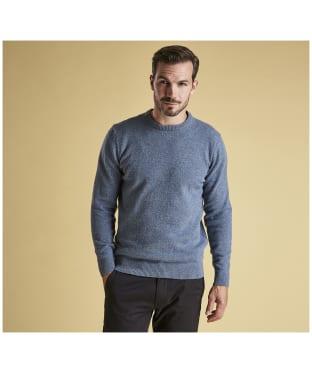 Men's Barbour Tisbury Crew Neck Sweater - Chambray Blue
