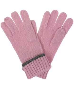 Women's Joules Huddle Gloves - Dusk Pink