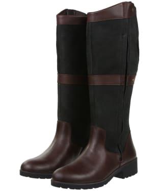 Women's Dubarry Sligo Boots - Black / Brown