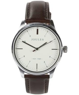 Men's Joules Aldous Leather Strap Watch