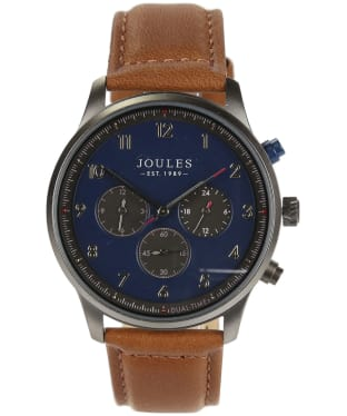 Men's Joules Mason Watch - Blue / Tan