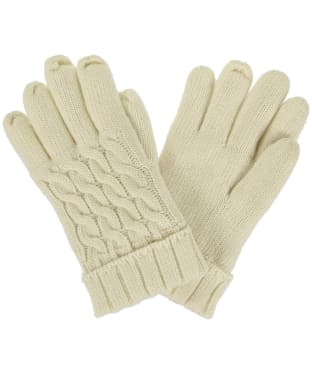 Women's Dubarry Arklow Gloves - Ivory
