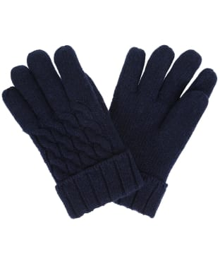 Women's Dubarry Arklow Gloves - Navy