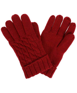 Women's Dubarry Arklow Gloves - Cardinal