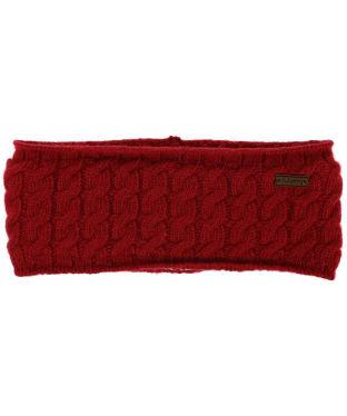 Women's Dubarry Ballinrobe Knitted Headband - Cardinal