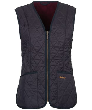 Women's Barbour Fleece Betty Liner - Navy