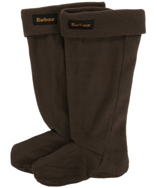 Barbour Fleece Wellington Socks - Rustic
