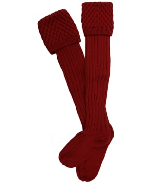 Pennine Chelsea Socks - Deep Red