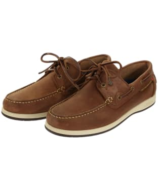 Men's Dubarry Sailmaker ExtraLight® Deck Shoes - Chestnut