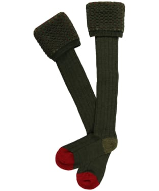 Men's Pennine Ambassador Shooting Socks - Hunter