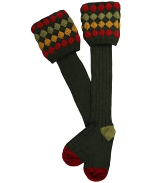 Men's Pennine Kendal Luxe Shooting Socks - Hunter