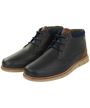Men's Barbour Nelson Chukka Boots - Navy