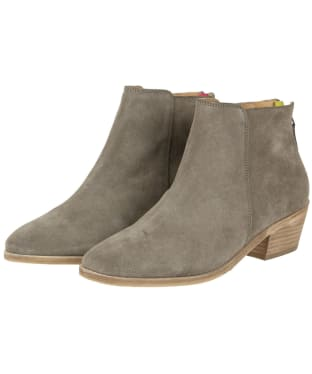 Women's Joules Langham Ankle Boots - Grey