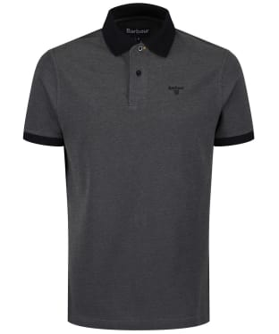 Men's Barbour Sports Polo Mix Shirt - Black