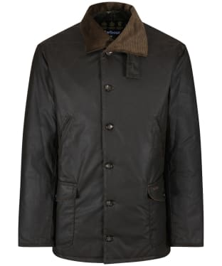 Men's Barbour x Sam Heughan Calcite Wax Jacket - Olive