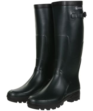 Aigle Benyl Medium Wellington Boots - Bronze
