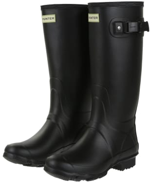 Women's Hunter Field Huntress Wellingtons - Black