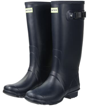 Women's Hunter Field Huntress Wellingtons - Navy