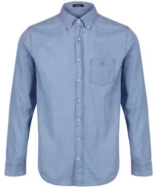 Men's GANT Regular Indigo Shirt
