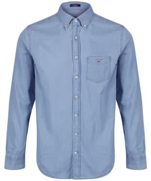 Men's GANT Regular Indigo Shirt