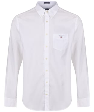 Men's GANT Regular Broadcloth Shirt - White