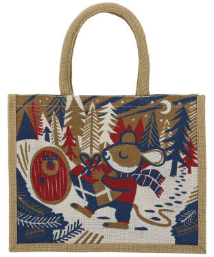 Women's Seasalt Cute Jute Bag - Christmas Mouse