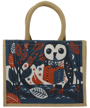 Women's Seasalt Cute Jute Bag - Gift Owl