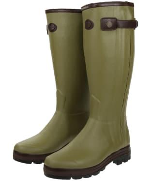Men's Le Chameau Chasseur Cuir Prestige Wellington Boots