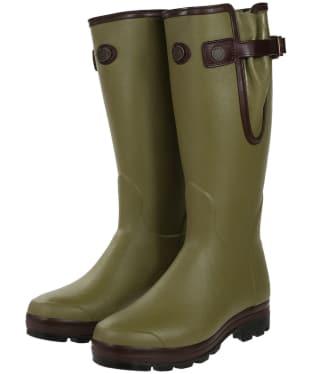 Men's Le Chameau Vierzonord Prestige Wellington Boots - Vert Vierzon