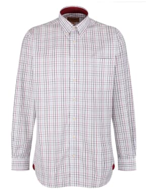 Men's Schoffel Banbury Shirt - Red / Green Check