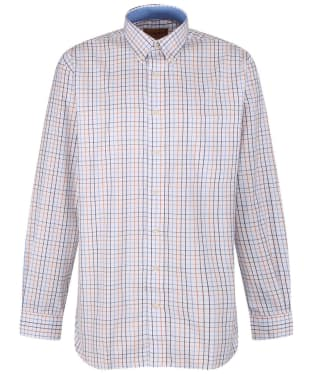 Men's Schoffel Banbury Shirt - Ochre Check