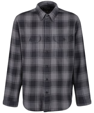 Men's Filson Scout Shirt - Grey / Black